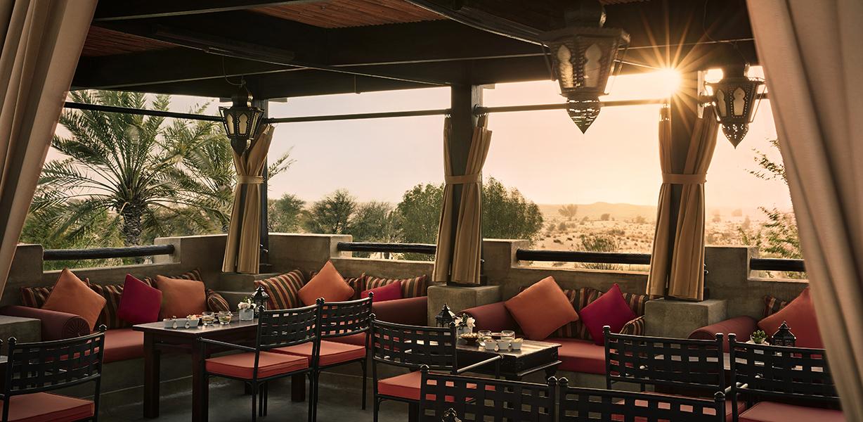 Al Sarab Rooftop Shisha Lounge Bab Al Shams Resort Dubai