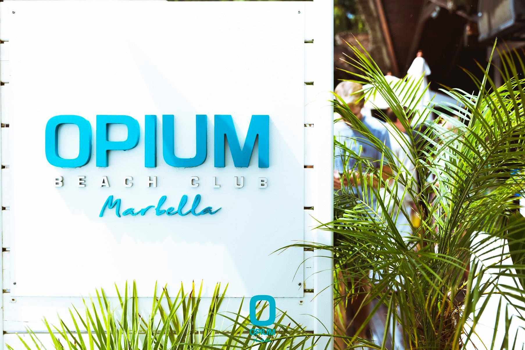 Opium - Beach Club & Restaurant with Shisha in Marbella