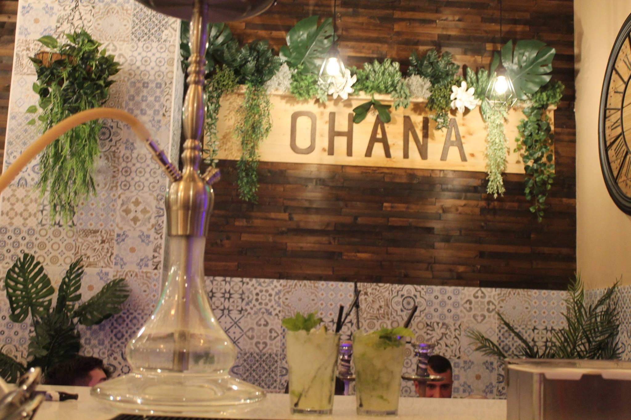 Ohana Cachimba Bar in Sevilla Shisha Chicha Hookah Kalyan