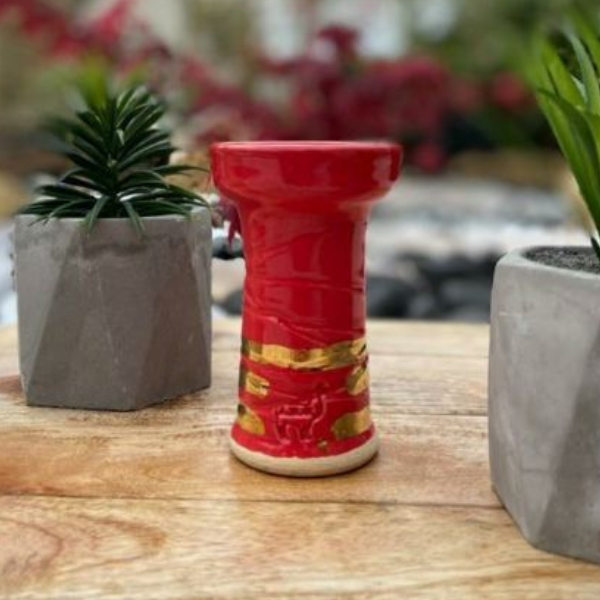 Top 5 hookah bowls - Mini Rook Alpaca - Hookah head and Shisha tobacco bowl chicha