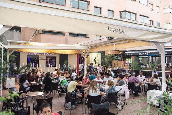 Hispano Bar Cachimba Sevilla Terrace Hookah Shisha Chicha Kalyan
