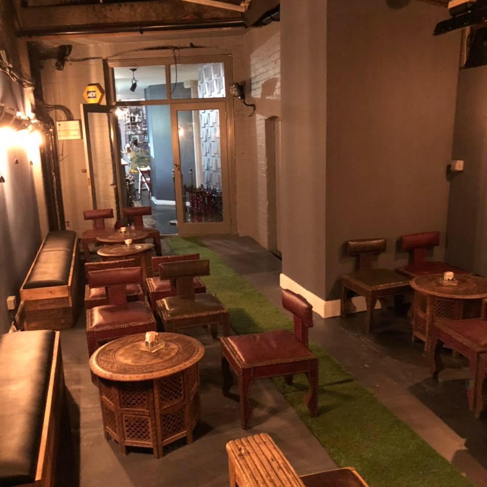 hayaty shisha shisha lounge in london chichamaps. Black Bedroom Furniture Sets. Home Design Ideas